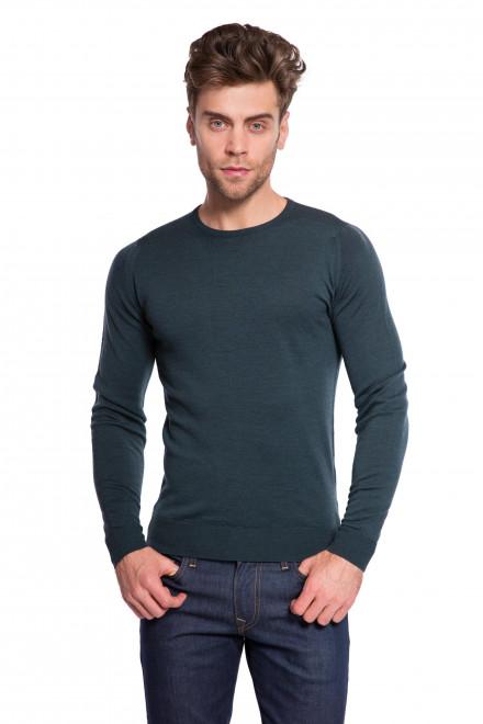 Пуловер зеленый John Smedley