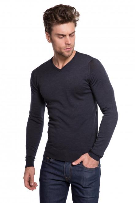 Пуловер черный  John Smedley