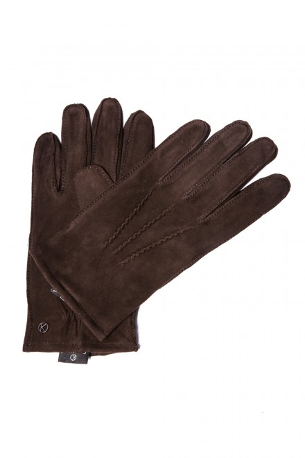 Классические мужские перчатки кожаные Otto Kesler