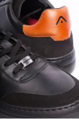 Сникеры черные с символикой Ambitious 3