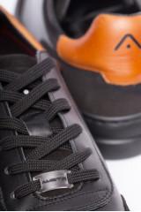 Сникеры черные с символикой Ambitious 6