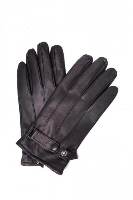 Кожаные мужские перчатки на зиму Otto Kesler