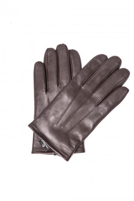 Перчатки мужские зимние утепленные, кожа, Otto Kesler