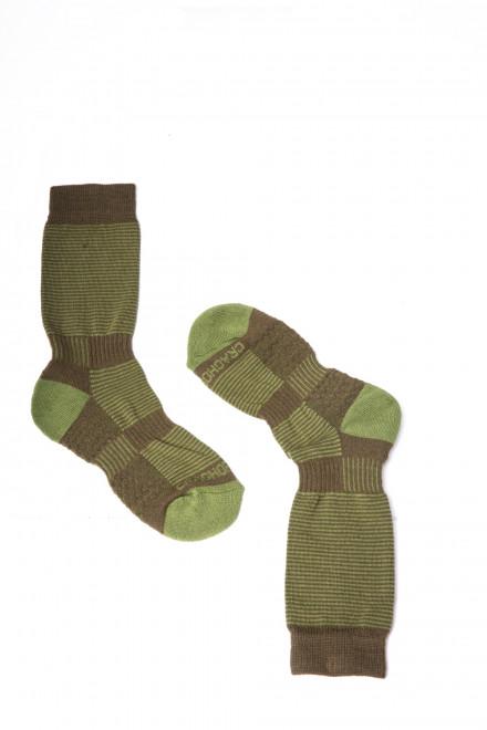 Носки мужские цвета хаки Craghoppers