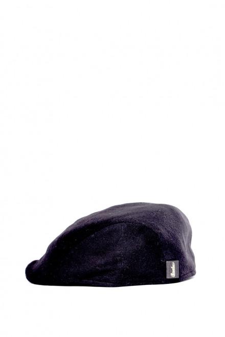 Кепка чоловіча кашемірова чорна Borsalino