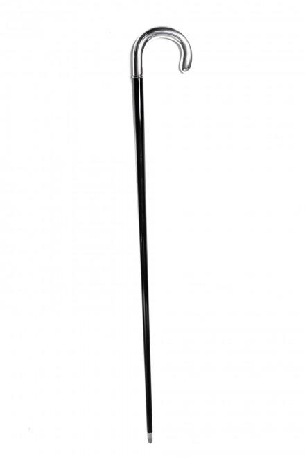 Трость мужская для ходьбы деревянная с латунным концом Pasotti