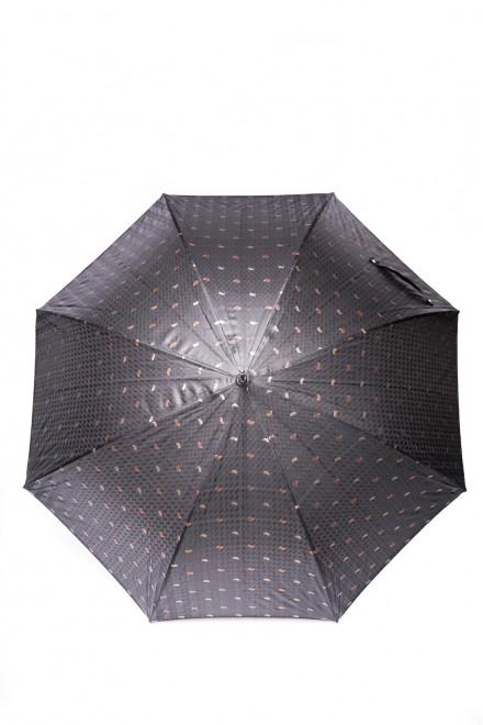 Зонт-трость мужской с узором пейсли (орнамент) Pasotti