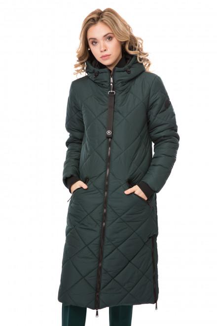 Куртка женская стеганая с капюшоном Reset
