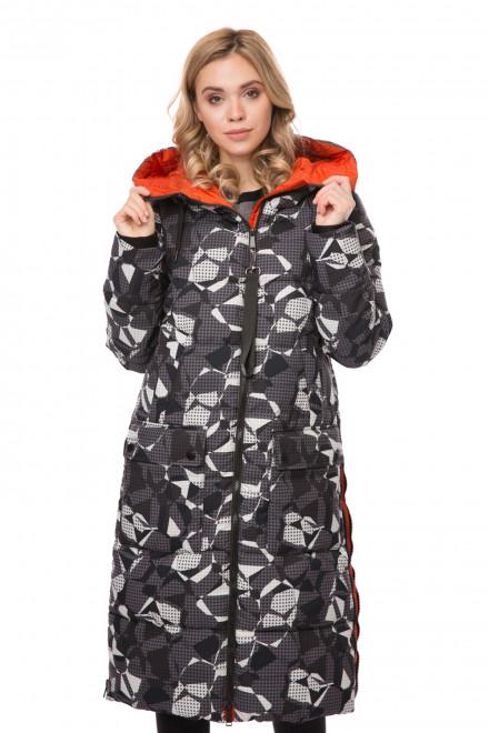 Куртка женская стеганая, удлиненный крой, Reset