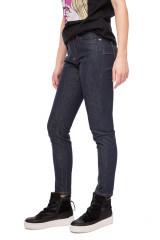 Джинсы женские темно-синие с завышенной талией узкие Miss sixty