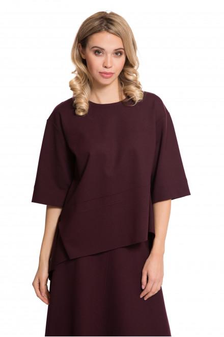 Пуловер женский бордовый Iris Janvier