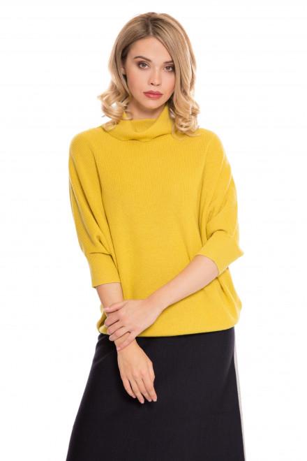 Пуловер женский желтый UNQ