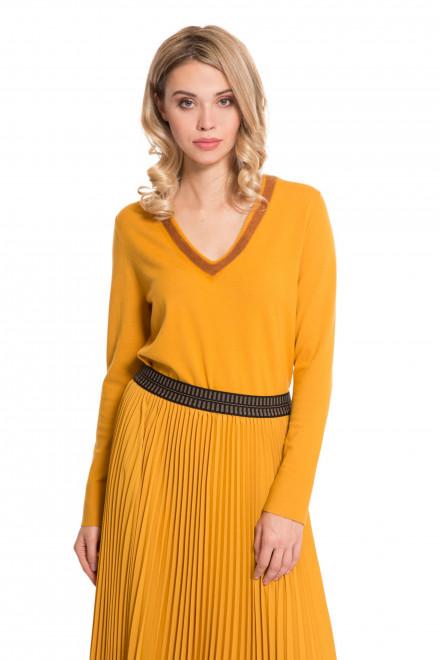 Пуловер женский желтый Luisa Cerano