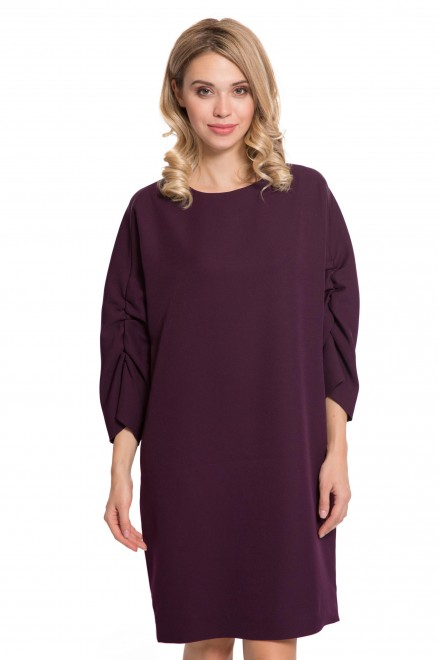 Платье бордового цвета Iris Janvier