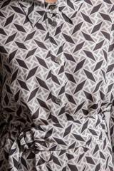 Платье серое с абстрактным принтом Riani 4