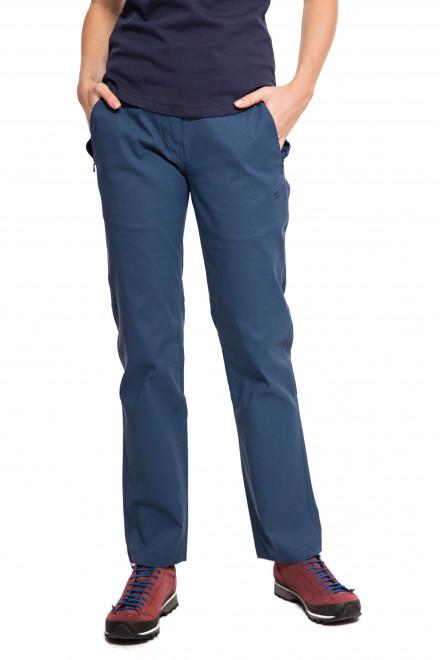 Штаны женские синего цвета из тонкой ткани Craghoppers