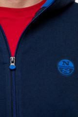 Кардиган мужской темно-синий North Sails 3