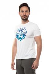 Футболка мужская с крупным логотипом North Sails 1