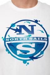 Футболка мужская с крупным логотипом North Sails 3