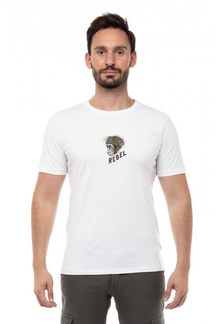 Футболка мужская с принтом и надписью Junk de Luxe