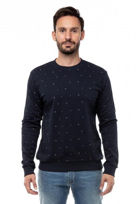 Пуловер мужской с круглой горловиной принт буквы Lindbergh