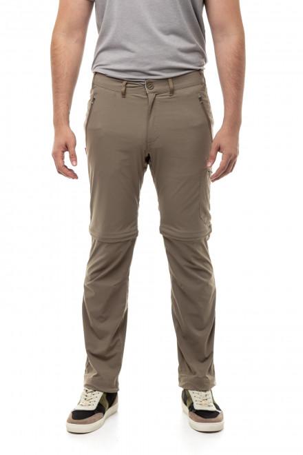 Брюки мужские светло-коричневые с карманами на молнии Craghoppers