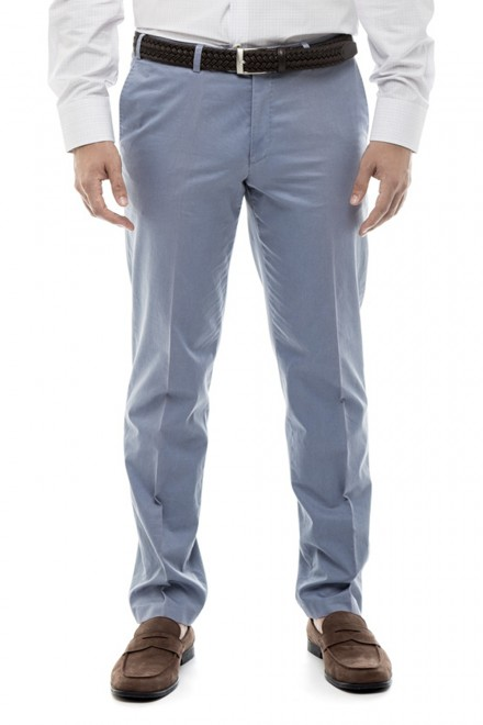 Голубые мужские брюки Hiltl