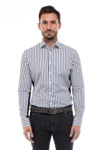 Рубашка мужская со вставками Van Laack