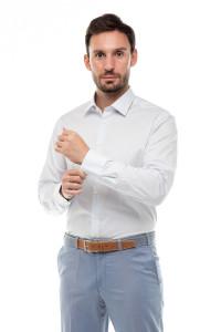 Рубашка мужская в полоску Van Laack