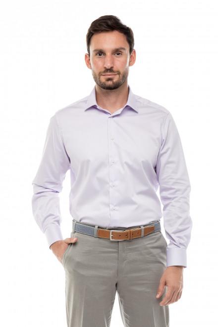 Рубашка мужская сиреневая Cadini