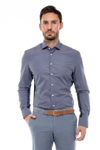 Рубашка мужская фиолетовая Van Laack