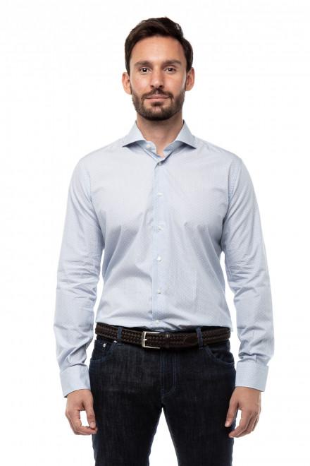 Рубашка мужская в горох Delsiena