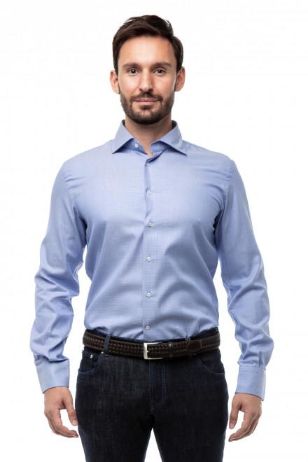 Рубашка мужская в мелкую клетку Delsiena