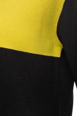 Пуловер женский черного цвета оверсайз UNQ 3