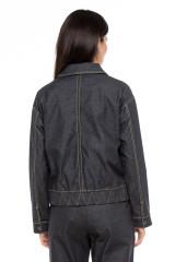Куртка джинсовая оверсайз UNQ 2