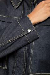 Куртка джинсовая оверсайз UNQ 4