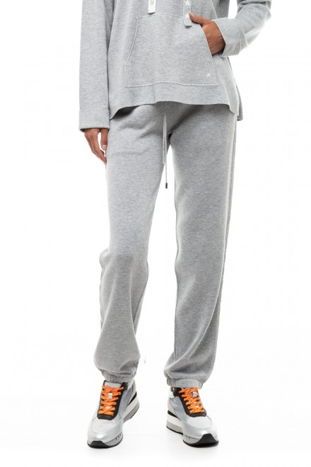 Прямые вязаные брюки женские с эластичным поясом Repeat