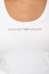 Топ женский белый с надписью Armani 3