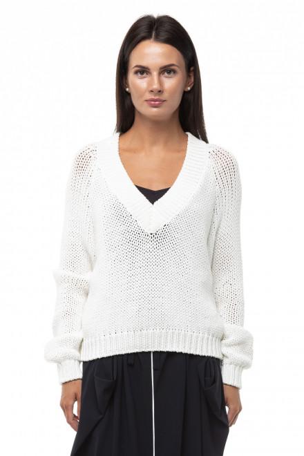 Пуловер женский кремового цвета  Ania Schierholt