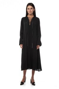 Платье черное свободного кроя Beatrice .b