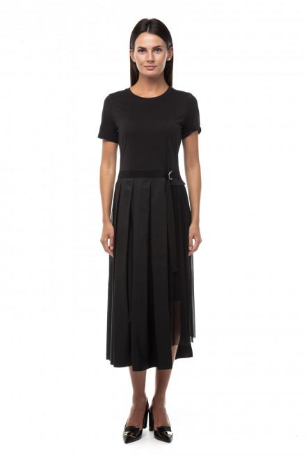 Платье женское черного цвета длина миди приталенное Riani