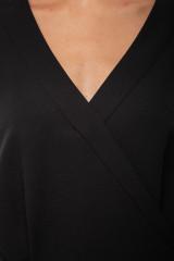 Платье черное на запах Iris Janvier 6