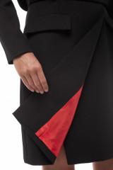 Платье черное на запах Iris Janvier 3