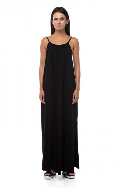 Платье черное трикотажное Liviana Conti