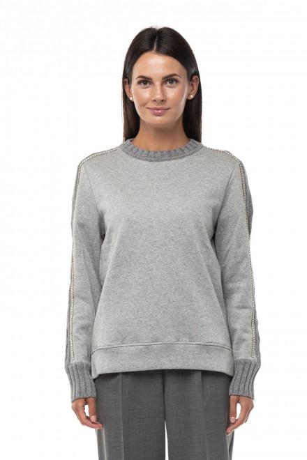 Пуловер женский серый Beatrice .b
