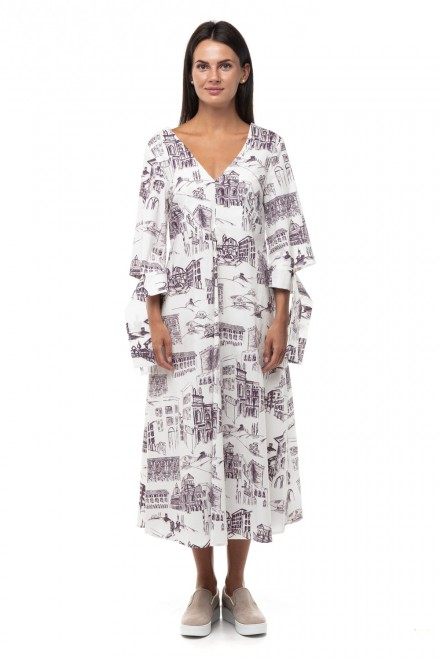 Платье из хлопка Liviana Conti