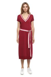 Платье женское бордовое Le Coeur