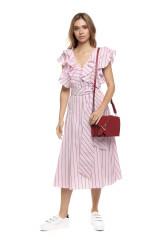 Платье полосатое Le Coeur 5