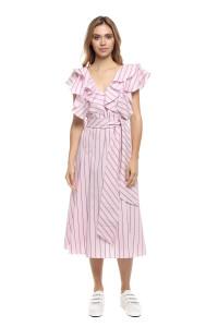 Платье полосатое Le Coeur