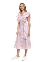 Платье полосатое Le Coeur 1